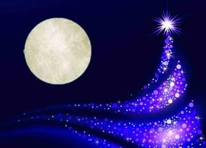 moon christmas