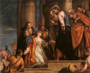 Paolo-Veronese-Christ-and-the-Woman-with-the-Issue-of-Blood-