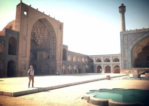 Iman mosque in Esfahan Iran_10203897925802986